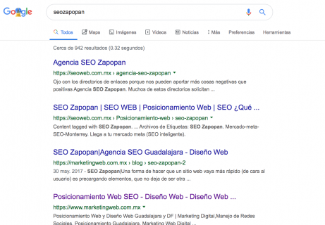 SEO ZAPOPAN SEO search engine optimization Diseño Web agencia de posicionamiento web